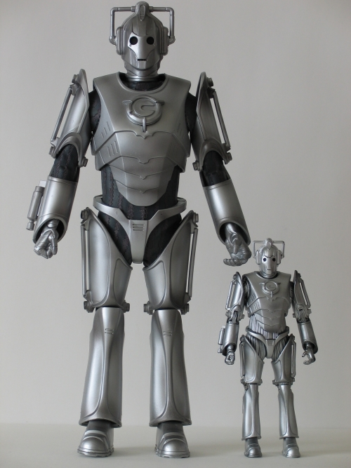 Cyberman 12 Inch and 5 Inch Action Figures