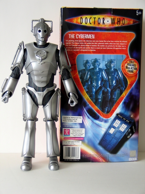 Character Options Cyberman 12 Inch Action Figure