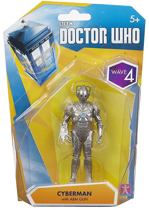 Cyberman with Arm Gun Wave 4