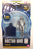 Cyberman 3.75 inch Series 7 Action Figure Blue Chest Piece and Gun Arm