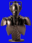 Cyberman Mini Bust by Hoosier Whovian
