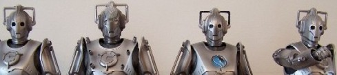 Cyberman, Cyber Controller, Cyber Leader, Cyberman with Arm Weapon