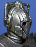 Corroded Cyberman With Face Damage
