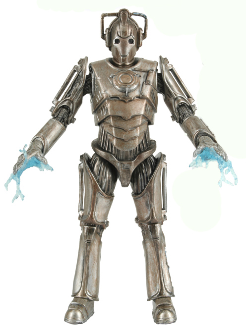 Corroded Cyberman With Limb Damage With Electric Hands Wave 1D
