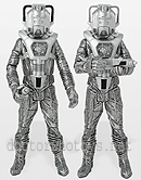 Cyber Leader and Cyberman Silver Nemesis