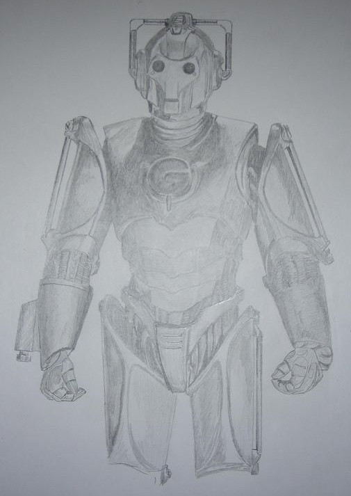 Cyberman Sketch - Thanks Jamie