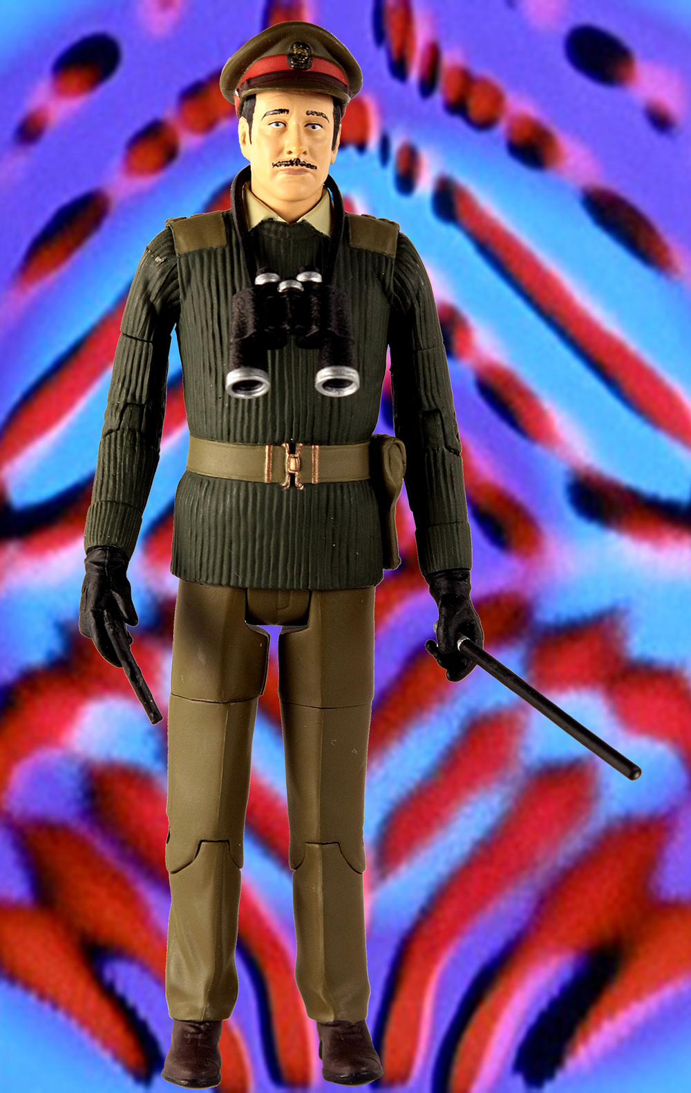 The Brigadier from The Daemons Collectors Set