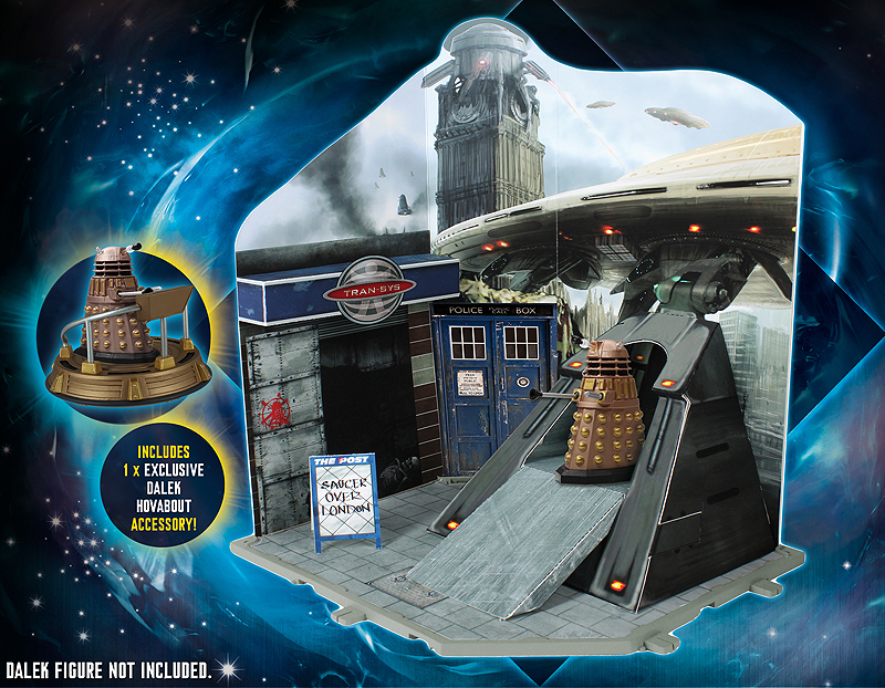 Dalek Invasion Playset