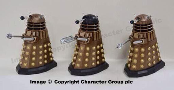 3.75 Inch Dalek Variants - Crucible Dalek, Imperial Guard Dalek with Variant Arm & Dalek with Claw Arm