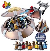 Character Building Dalek Vehicle Mega Playset