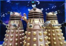 Dalek 5 inch Comparison Photo