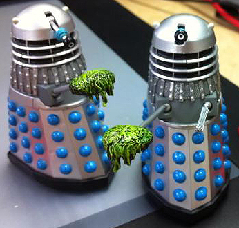 Classic Dalek with Mutant Scoop from Power of the Daleks (1966)