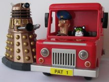 Dalek Thay, Postman Pat and Jess the Cat (Born To Play)