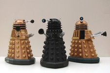 Dalek Sec & Dalek with Mutant Reveal
