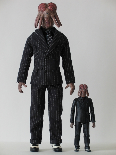 Dalek Sec Hybrid 12 Inch and 5 Inch Action Figures