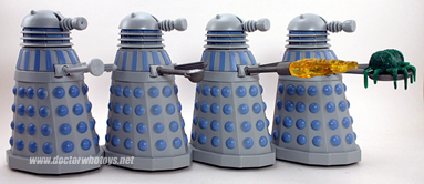 Dapol Early Dalek Figures