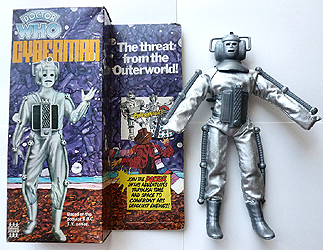 Denys Fisher Cyberman Pack and Figure