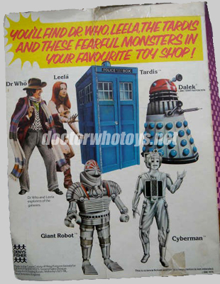 Denys Fisher Doctor Who Figures