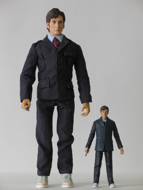 The Doctor 12 Inch and 5 Inch Action Figures