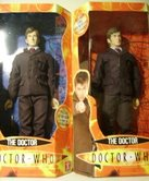 Doctor Who 12 Inch Figure in blue and red-backed boxes