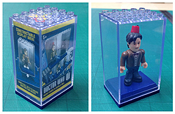 Doctor Who Character Building Display Brix