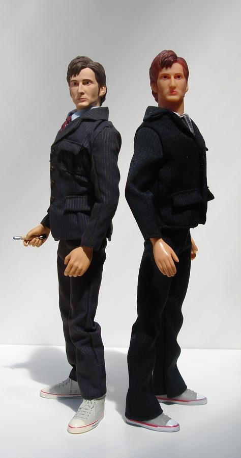 The Doctor 12 inch and The Doctor 12 inch bootleg Figure