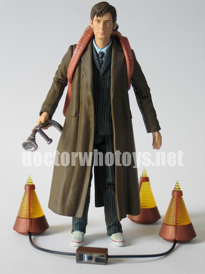 The Doctor with Ghost Transmission Triangulation Gear Action Figure