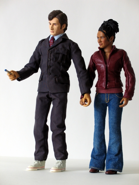The Doctor and Martha Jones 12 Inch Action Figures