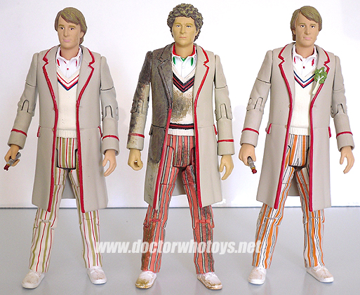 The Fifth & Sixth Doctors Cricket Outfits