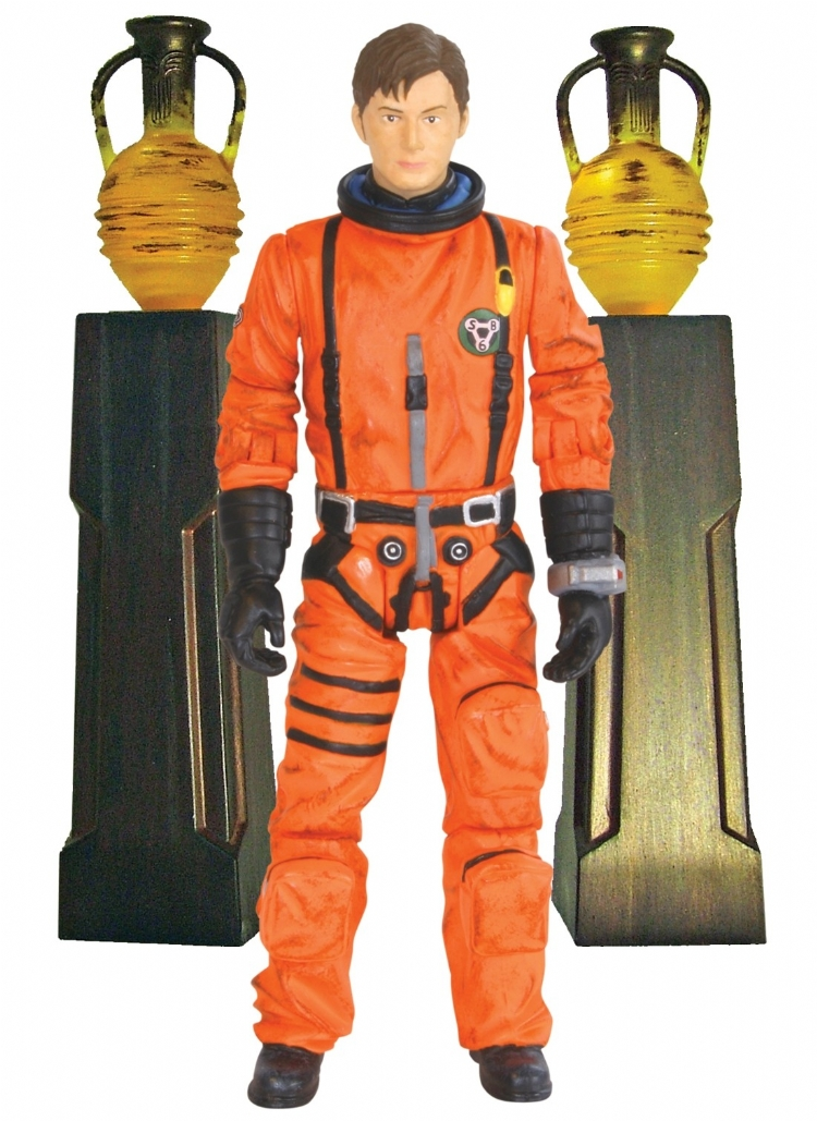 The Doctor in Spacesuit with Obelisks Action Figure