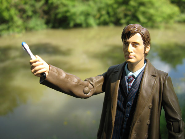 David Tennant's The Doctor Tenth Doctor Who Action Figure with Sonic Screwdriver Accessory
