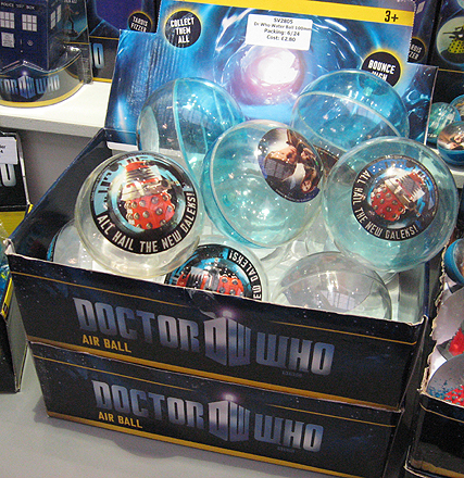 Doctor Who Air Balls by Grossman
