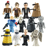 Doctor Who Character Building Display Brix Wave 1