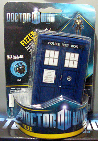 Doctor Who Fizzers by Grossman
