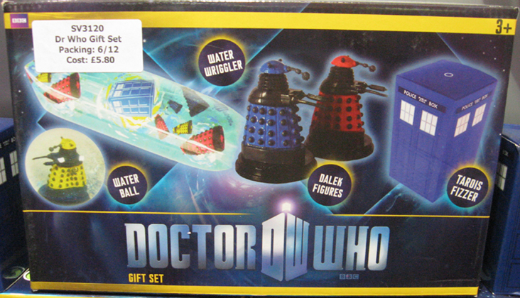 Doctor Who Gift Set by Grossman