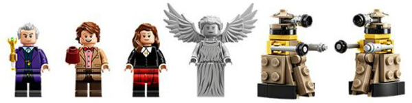 Doctor Who Lego Ideas Figures