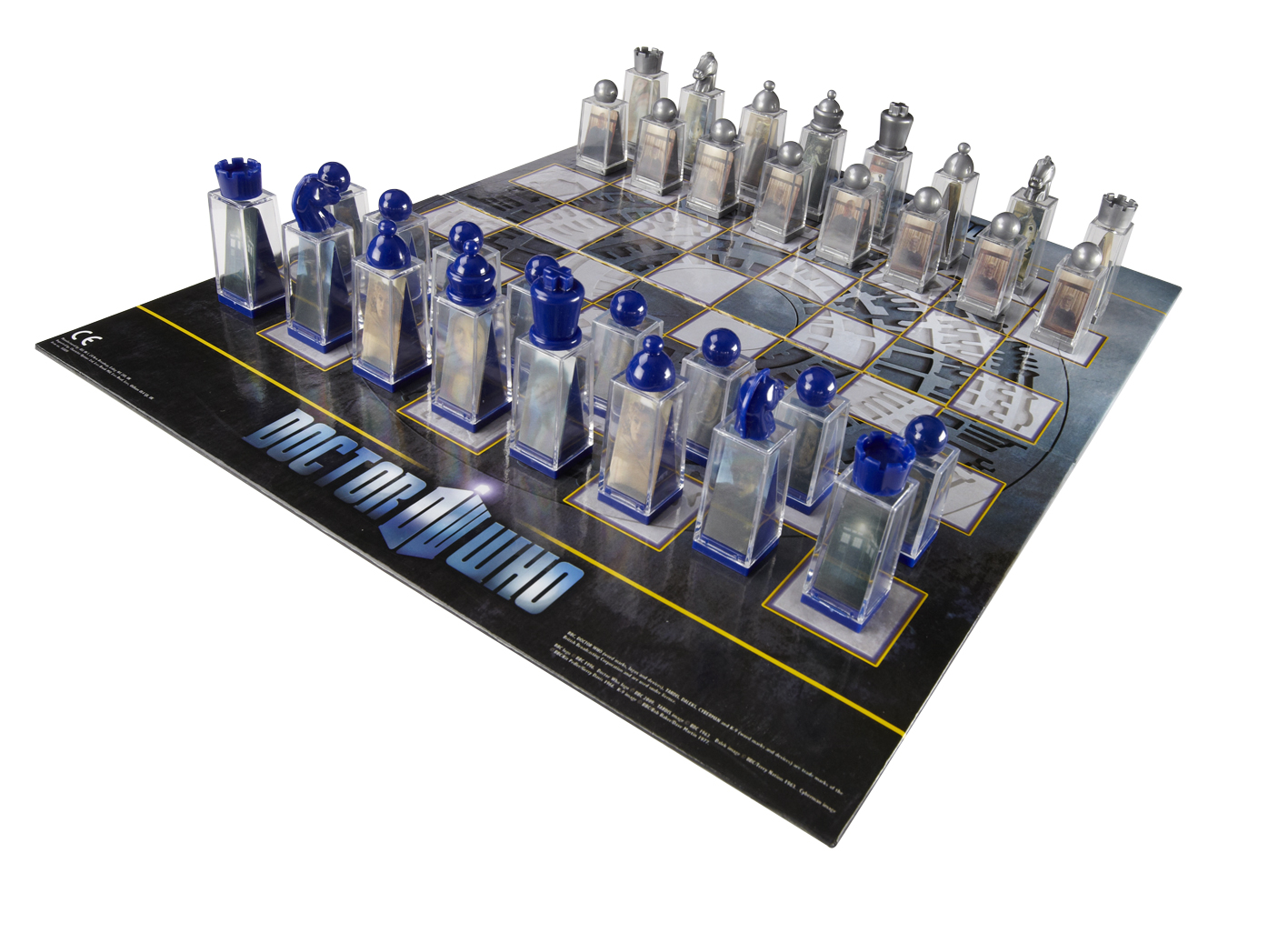 Doctor who - lenticular animated chess set