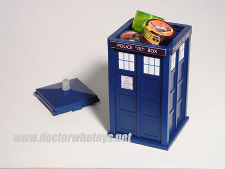 Doctor Who Power Rollers Tardis Box