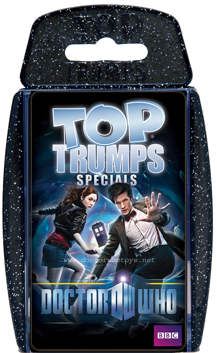 Doctor Who Top Trumps 2010