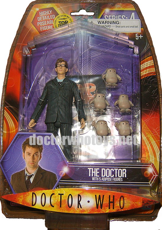 The Doctor with 5 Adipose Figures