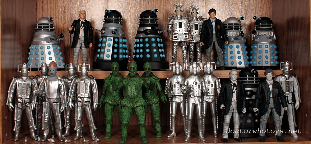 ded3cb1dac6 Doctor Who Action Figures - Collection