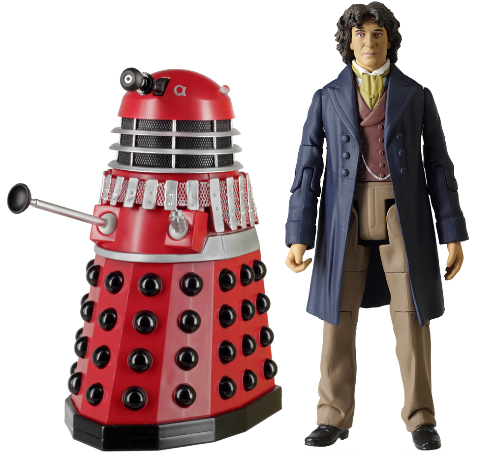 Eighth Doctor with Dalek