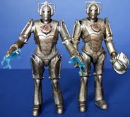 Corroded Cyberman With Chest Damage and Electric Hands