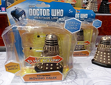 Electronic Moving Daleks