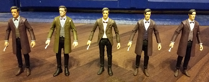 Eleventh Doctors in 3.75 Inch Scale