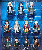 Doctor Who Eleven Doctors Micro Figure Set - Super Rare Variant