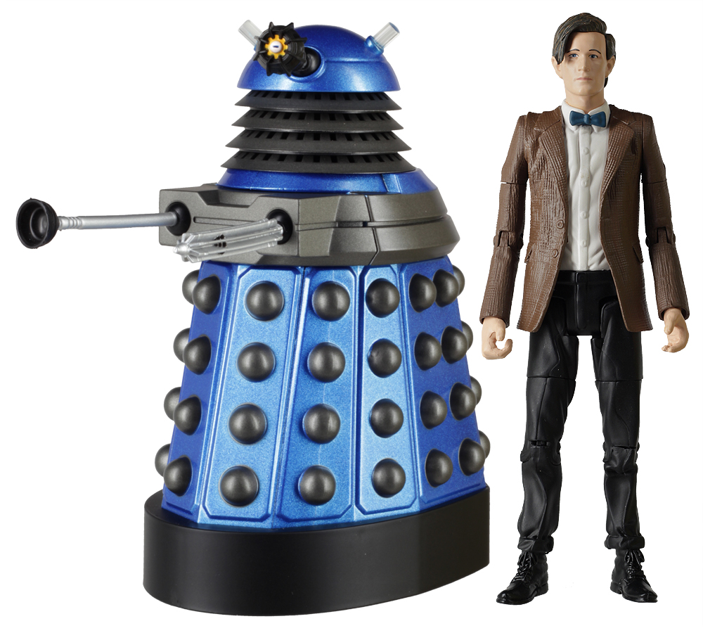Eleventh Doctor with Dalek
