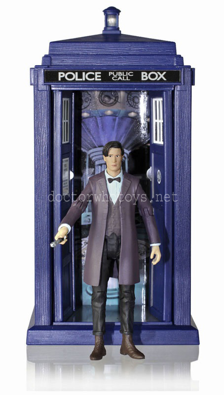 Eleventh Doctor Series 7 and Spin and Fly Tardis