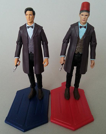 Eleventh Doctor Comparison - Single Carded Vs The Day of the Doctor Set
