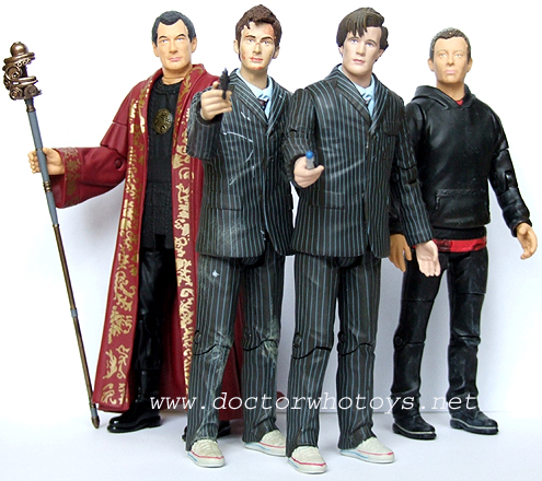 Doctor Who End of Time Figures